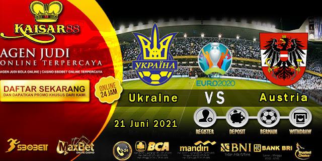 Prediksi Bola Terpercaya Piala EURO Ukraine vs Austria 21 Juni 2021