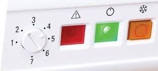 ما هو سبب اضاءة اللمبة الحمراء للديب فريزر