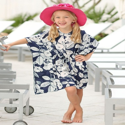 bb68d3a2b8b Girls Animal Print Tiered Ruffled Tank and Skirt Bikini with Pink Trim  The  dress which lets you earn the early title of a party animal for all the  beach ...