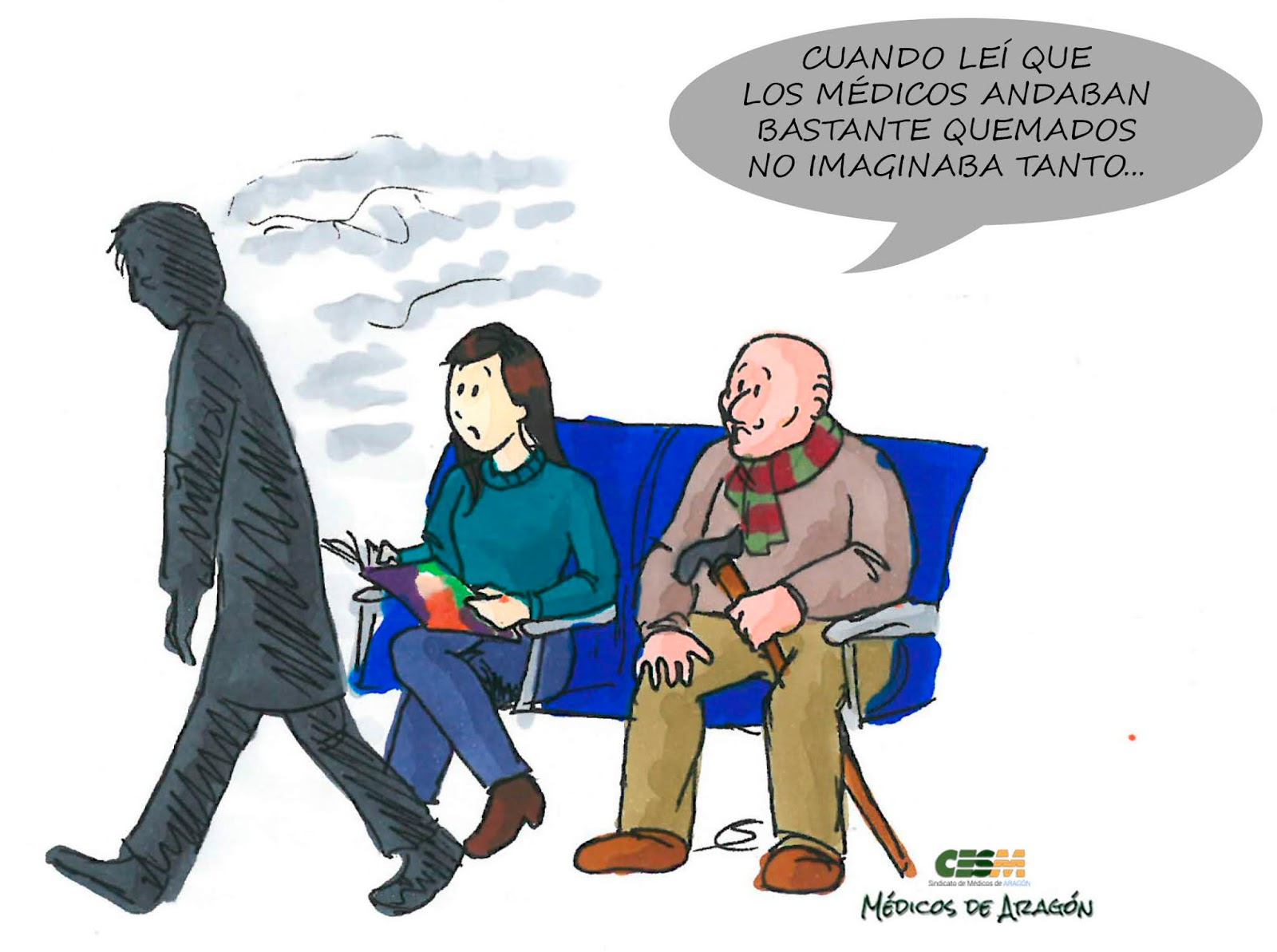 ¿CORONAVIRUS?. PARA EPIDEMIA EN ESPAÑA, LA DEL SOCARRAMIENTO DE SUS MÉDICOS