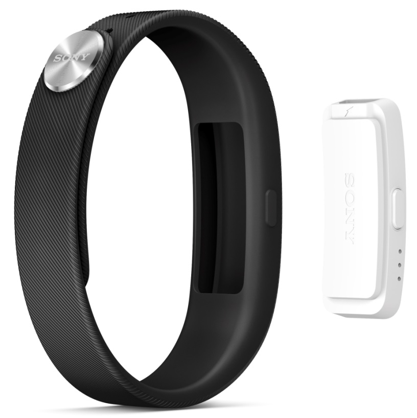 Where is the display of Sony SmartBand?