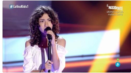 Lucía: Dangerous Woman |  Audiciones a ciegas La Voz Kids