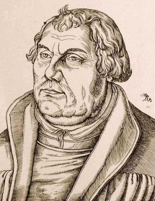 Martinho Lutero por volta de 1543-46