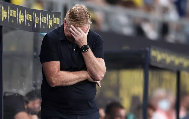 AXED! Ronald Koeman Make List As the Worst Barcelona Manager of All Time