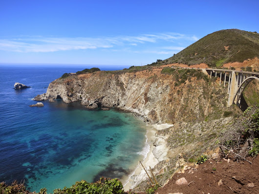 Waterfalls, Bluegrass and Lobster: Baby's First Trip to Big Sur