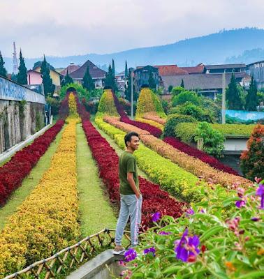 Menghabiskan Masa Liburan di Obyek Wisata Rainbow Garden Lembang