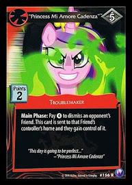 "My Little Pony ""Princess Mi Amore Cadenza"" Canterlot Nights CCG Card"