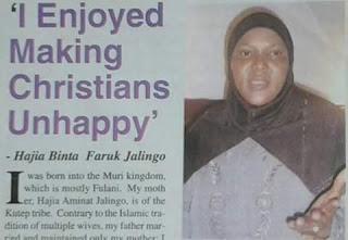 HAJIA BINTA FARUK NARRATES HER CONVERSION STORY INTO CHRISTIANITY