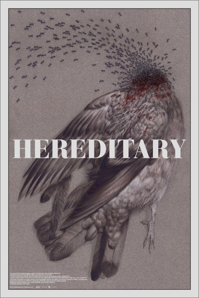 Inside The Rock Poster Frame Blog Hereditary By Randy Ortiz A