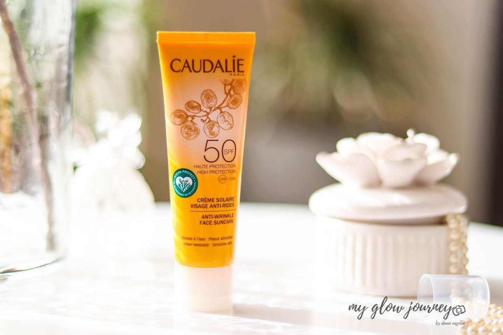 Caudalie Anti-wrinkle Face Suncare SPF50 Review