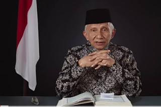 Biografi Amien Rais - Ketua Umum Partai Amanat Nasional Pertama