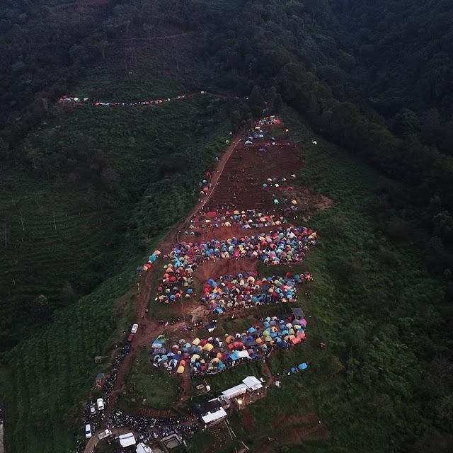 Bukit Alas Bandawasa Rekomendasi Tempat Camping di Bogor