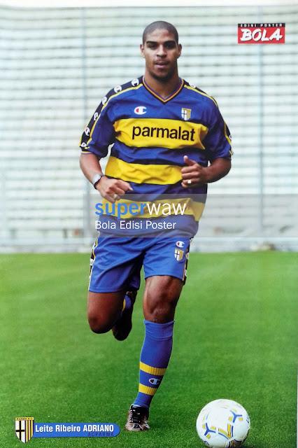 Poster Leite Ribeiro Adriano (AC Parma)