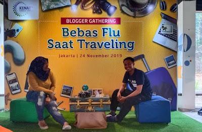 Bebas Flu Saat Traveling