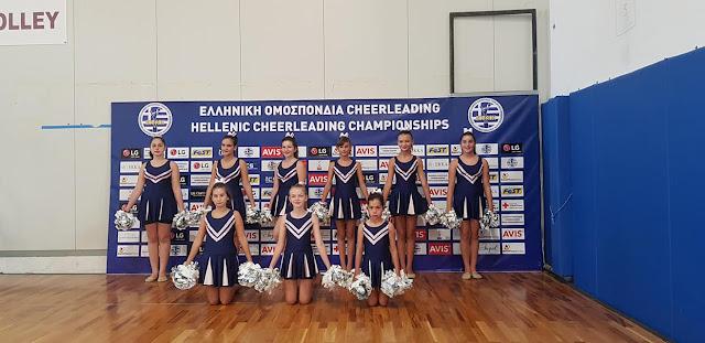 """Αισιοδοξία για τα κορίτσια της """"Χοροκίνησης"""" που συμμετείχαν στο 4o Πανελλήνιο πρωτάθλημα cheerleading"""
