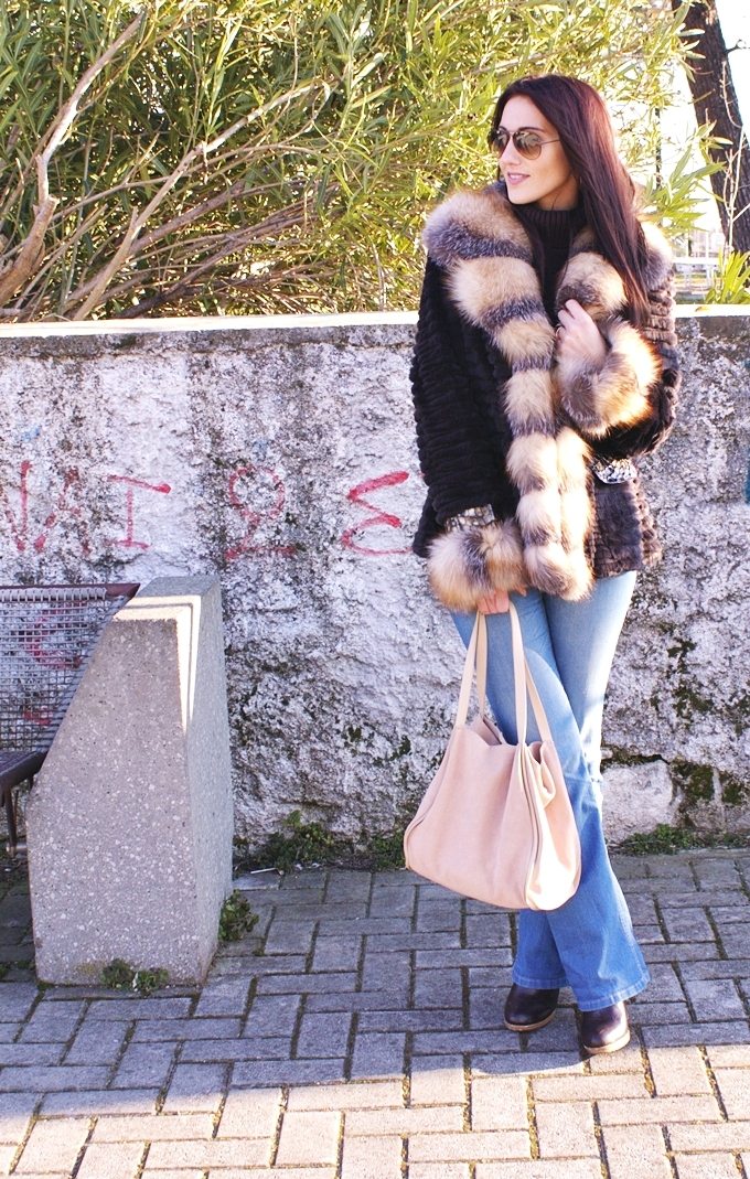 Best winter looks with fur coats