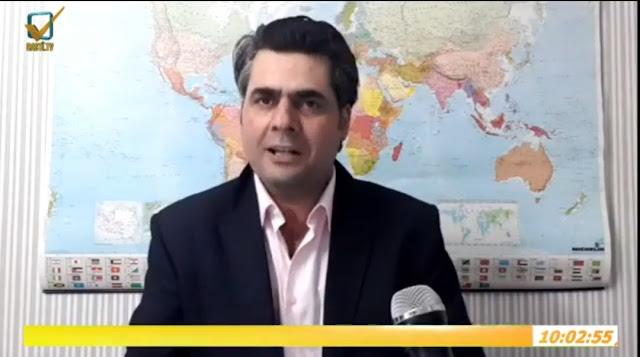"""مع الباحث الاستراتيجي إبراهيم كابان في برنامج """" قضية وتحليل """" على قناة الحقيقة Rastȋ"""