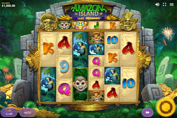 Main Gratis Slot Indonesia - Amazon Island Megaways Red Tiger Gaming