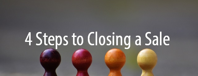 4 steps to close a sales