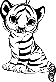 Images Baby Tiger Coloring Pages