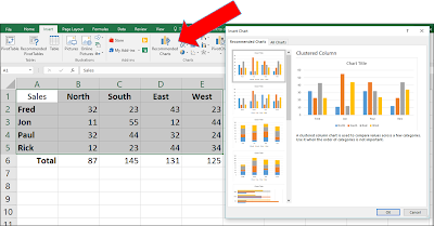 Microsoft Excel Recommended Charts - One Cool Tip - www.onecooltip.com