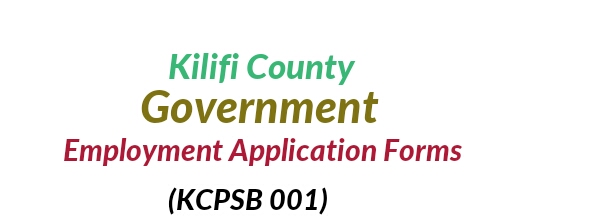 Kilifi county application form