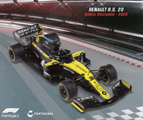 LE GRANDI FORMULA 1 RENAULT RS 20 2020