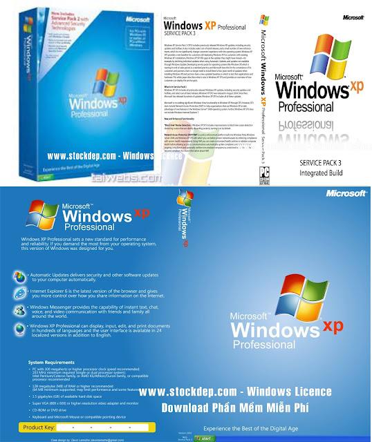 Download Windows XP Professional SP3 April 2021