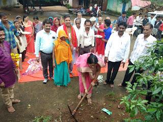 विधायक सुश्री भूरिया ने किया निर्माण कार्यों का भूमि पूजन