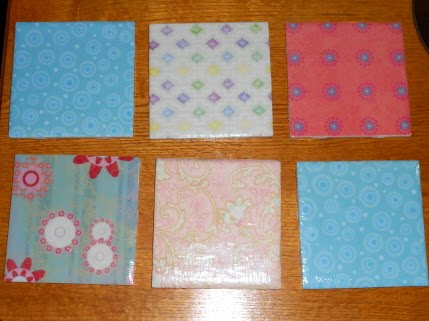 Passionate About Crafting Decoupage Ceramic Tile