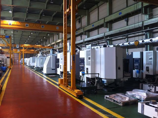 nhà xưởng máy phay cnc