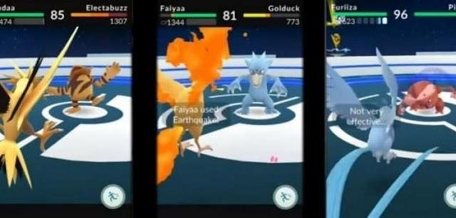 A chegada dos eventos para caputrar os lendários poderia ser confirmada devido a supostas imagens vazadas de Pokémon GO.
