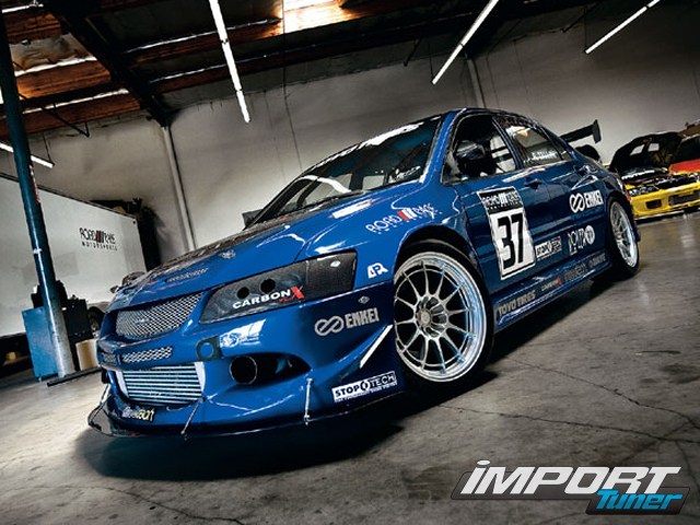 Mitsubishi Lancer Evolution Modified Wallpaper