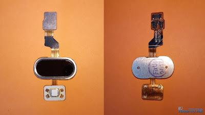 Разбор сенсора-кнопки Home Meizu M3s