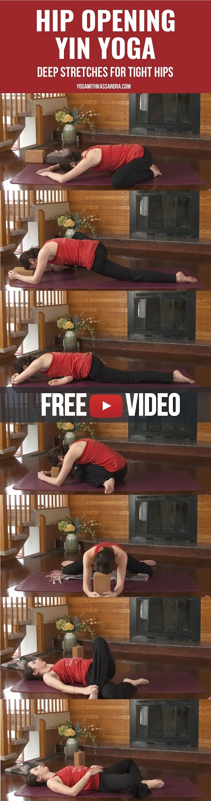 Whether you have tight hips that are causing you grief, or you want to increase your hip flexibility to work towards other goals on your mat this is the practice for you.