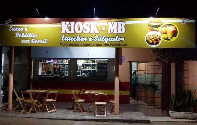 Conheça o Kiosk-MB  lanches e Salgados em Registro-SP