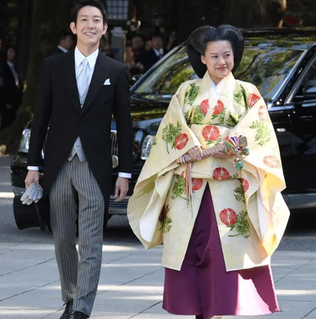 Photos: Japanese Princess gives up her royal status to marry a commoner