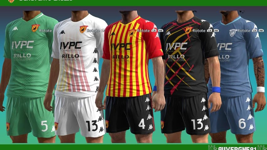 PES 2013 Benevento 20-21 Kits - Kazemario Evolution