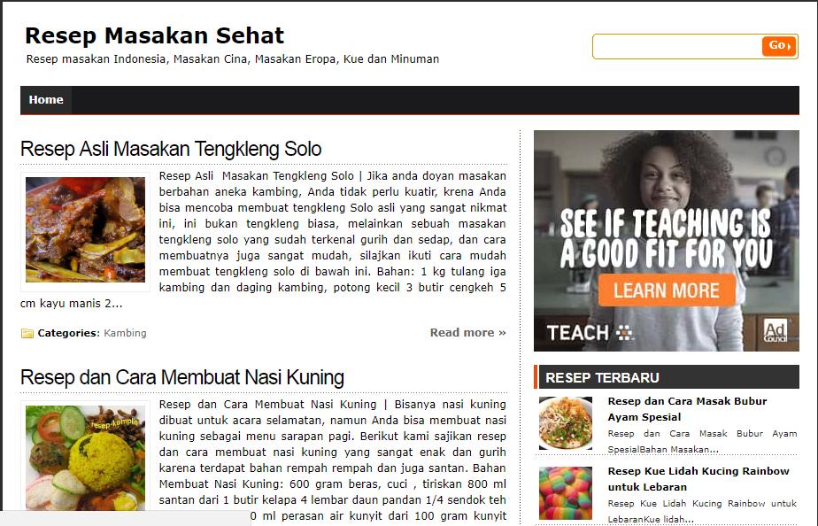 Cara Buat Website Gratis Dari Google Zone Blog