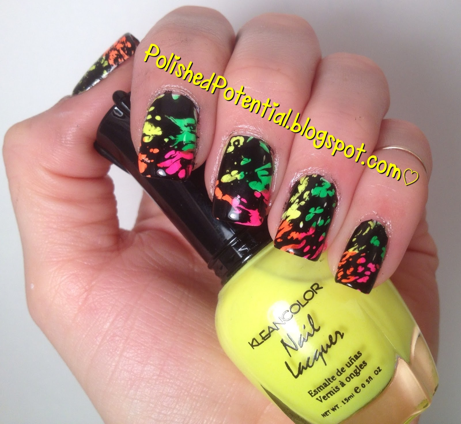 Nail Art February Challenge: Polished Potential: February Nail Art Challenge