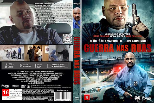 Capa DVD Guerra nas Ruas [Exclusiva]