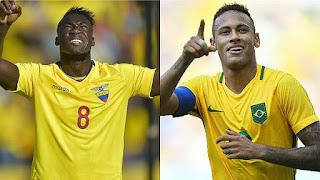 Ecuador vs Brasil en Eliminatorias Sudamericana Rusia 2018