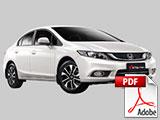 Brosur Mobil Honda Civic Bandung