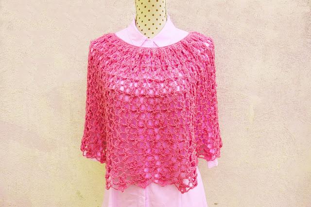 4 - Crochet Imagen Capa para mujer a crochet y ganchillo por Majovel crochet