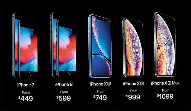 Yang Baru dan Berbeda Dari iPhone XS, XS Max, XR Dibanding iPhone X