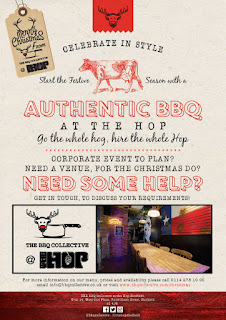 Christmas Booking at The BBQ Collective at The Hop