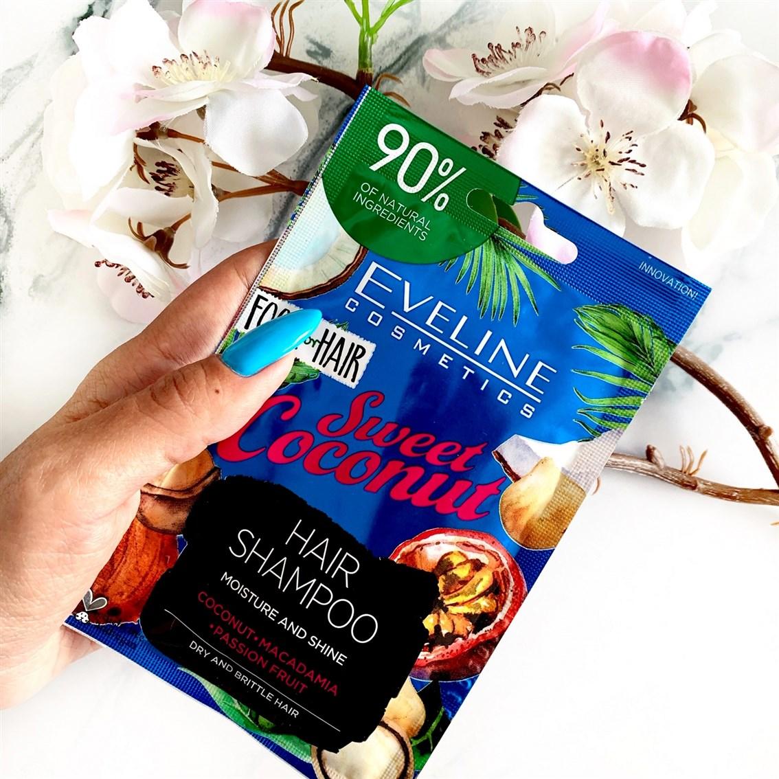 Eveline Food For Hair szampon Sweet Coconut