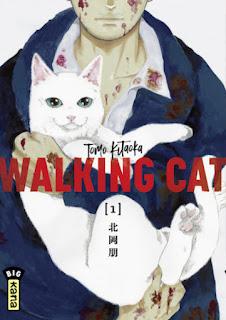 couverture du manga Walking Cat tome 1 aux éditions Kana