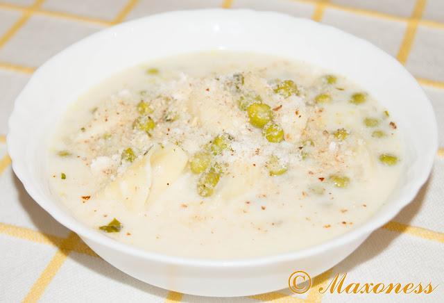 Суп с тортеллини и сметаной