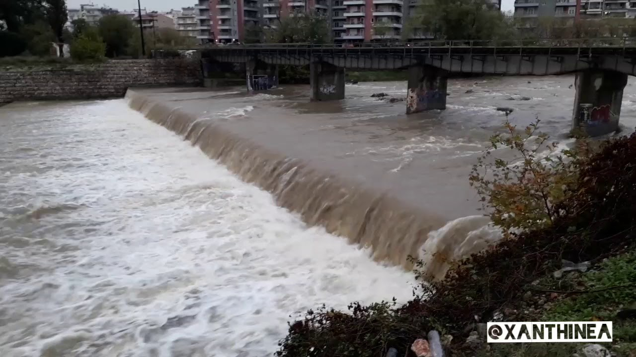 Ξάνθη: Προειδοποίηση για πλημμύρες σε Νέστο και Κόσυνθο
